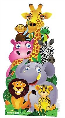 Jungle Pile up Cardboard Cutout Stand up. Great for animal themed events parties](Movie Themes For Parties)