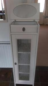 IKEA cabinet. Great for babies room