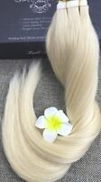 Blond Tape In Hair Extensions 40 pieces