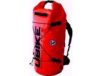 UBIKE Cylinder Bag Messenger waterproof 50 L Red £35