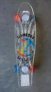 Flame Boy and Wet Willy Light-Up Skateboard