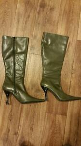Brand New Italian Leather Boots