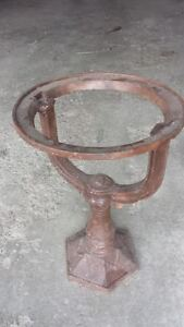 Cast Iron Plant Stand