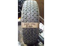 205-14C Nokia 109/107M 8pr 6.5mm Part Worn Tyre