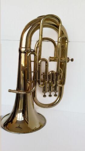 High Grade ! New Brass 4 Valve Bb/F Euphonium Free Case+M/P+FREE SHIP