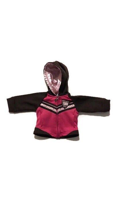 Nike Baby Girl Hooded Full Zip Jacket Pink  6-9 Months