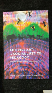Activist Art in Social Justice Pedagogy - excellent condition