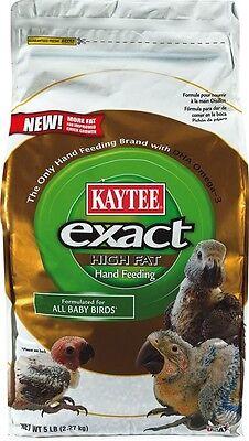 Kaytee Exact Hand Feeding Formula 5Lb High Fat African  Macaw Parrot On Sale