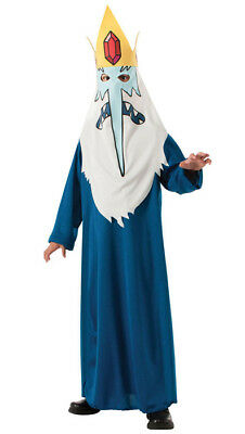 Brand New Adventure Time Ice King Child Costume Halloween - Adventure Time Kids Costumes