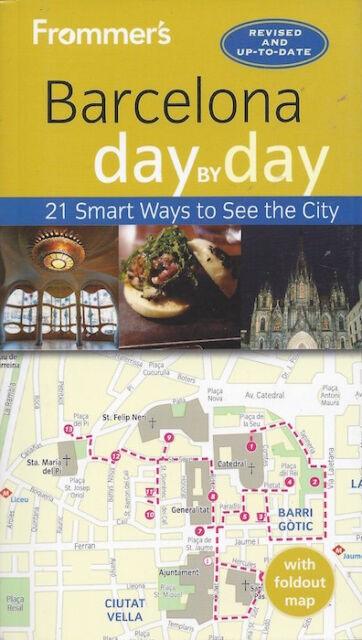 Frommer's Barcelona Day by Day (Spain) *FREE SHIPPING - IN STOCK - NEW*