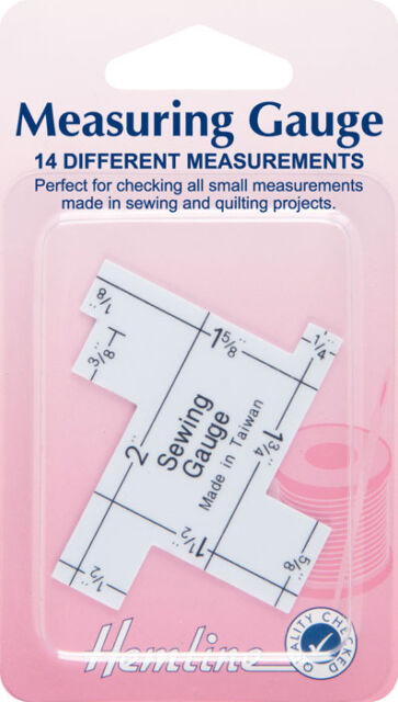 Hemline - Measuring Gauge     Perfect for checking all small measurements