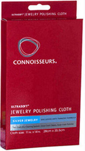 Silver Jewelry Polishing Cloth Gold Cleaner Places Anti Tarnish Barrier Soft