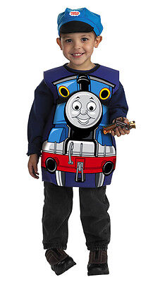Thomas Tank Costume (THOMAS the TANK & FRIENDS - CANDY CATCHER HALLOWEEN COSTUME & HAT-NEW IN PKG!!)