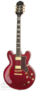 Sheraton pro 2 in wine red with hard case