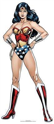 Wonder Woman DC Comics Mini Cardboard Cutout / Standup / Standee Superhero Fun](Superhero Cardboard Standups)