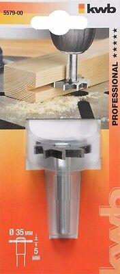 KWB Abrundfräser HM mit Anlaufkugellager 8 mm  Ø 25,7 x 6,35 x 10,5 mm