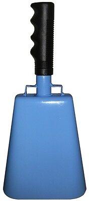 11-inch light blue cowbell w/ handle - quality noisemaker - football, CFC soccer](Soccer Noise Maker)