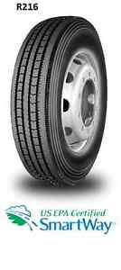 NEW TIRES 11R22.5 (STEER, DRIVE & TRAILER)