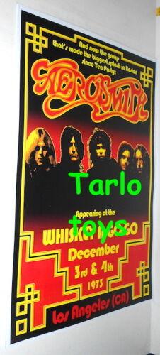 AEROSMITH - Los Angeles, Us - 3 december 1973  -  concert poster