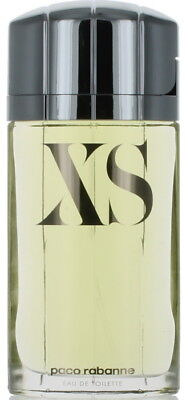 XS by Paco Rabanne for Men EDT Cologne Spray 3.3 oz.-Unboxed NEW
