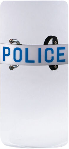 Clear POLICE Law Enforcement Swat Team Anti-Riot Protective Shield
