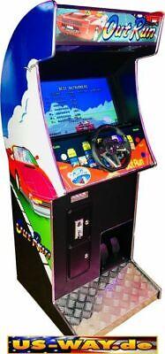 CRG-2 Classic Arcade Racing TV Video Spielautomat Standgerät Race Fahrsimulator