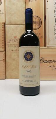 1997 SASSICAIA TENUTA SAN GUIDO - UNA BOTTIGLIA 75 cl - SPEDIZIONE GRATUITA