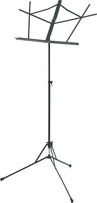 Musician's Gear Folding Music Stand Black on Rummage