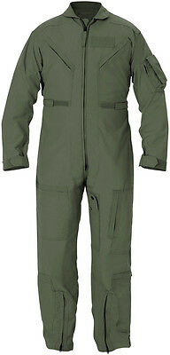 Women's Flight Suit (Woman's Flyer's Nomex Coverall Sage Green CWU 27P FR Flight suit Genuine Issue)
