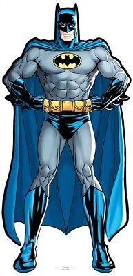 Batman DC Comics Mini Cardboard Cutout / Standup / Standee Superhero Party](Superhero Cardboard Standups)