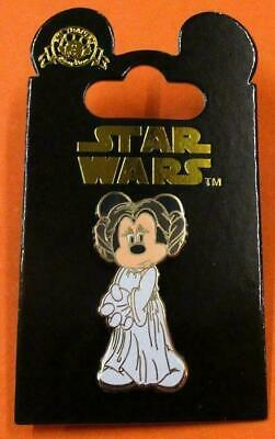 Disney Pin DLRP  Minnie as Princess Leia Star Wars