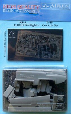 Aires 1/48 F-104D Starfighter cockpit set for Hasegawa kit 4344