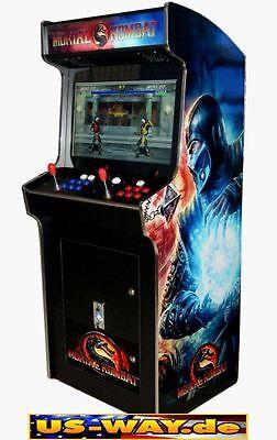 G-988 Classic Arcade Machine Cabinet TV Video Spielautomat Jamma 3500 Games