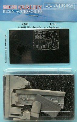 Aires 1/48 P-40B Warhawk Cockpit Set for Trumpeter kit 4301