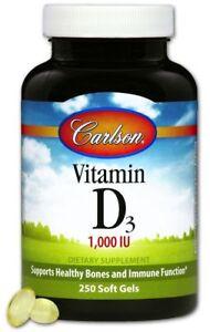 Carlson Laboratories Carlson Vitamin D3 1000IU