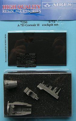 Aires 1/72 A-7D Corsair II Cockpit Set for Hobby Boss kit 7230