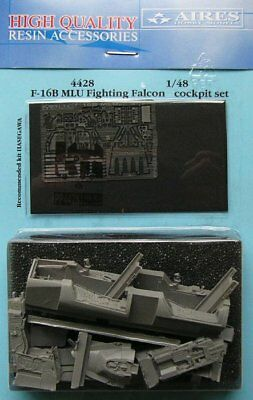 Aires 1/48 F-16B MLU Fighting Falcon Cockpit Set for Hasegawa kit 4428