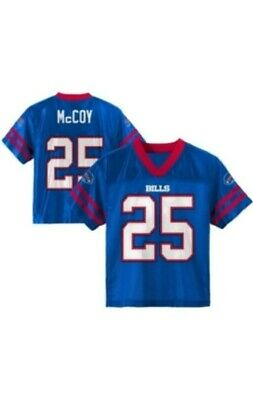 NFL Buffalo Bills Boys LeSean McCoy Jersey Team Colors Youth Size XS/S/M NEW