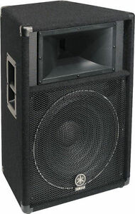 Yamaha BR10 PA DJ Passive Pair of Speakers
