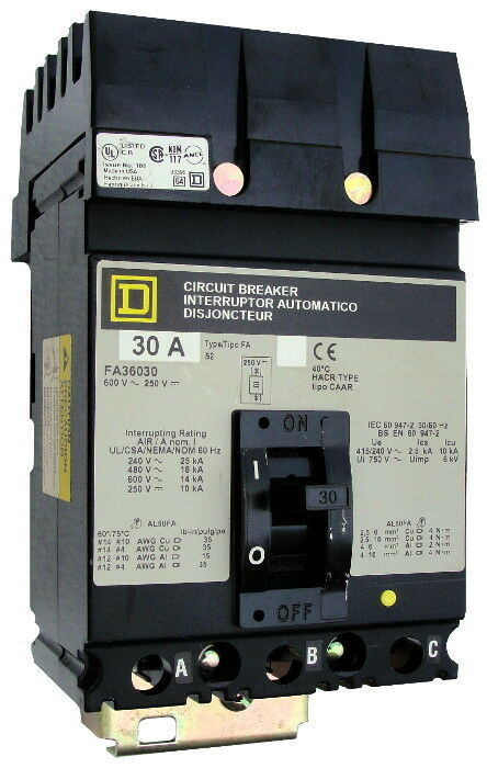 Square D Fa36090 - Certified Reconditioned