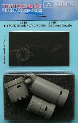 Aires 1/48 F-16C/D Block 30/40/50/60 Exhaust Nozzle for Kinetic kit 4440