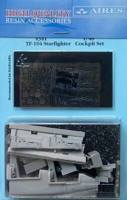 Aires 1/48 TF-104 Starfighter Cockpit Set for Hasegawa kit 4341