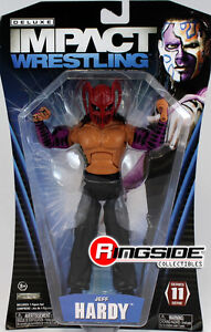 JEFF-HARDY-W-MASK-TNA-DELUXE-IMPACT-11-TOY-WRESTLING-ACTION-FIGURE