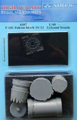 Aires 1/48 F-16C Falcon Block 25/32 Exhaust Nozzle for Tamiya kit 4387