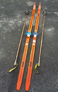 Skis and poles - SOLD !!