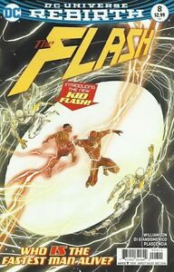 Flash issue 8 Wally West becomes Kid Flash