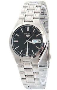 New, Seiko 5 Automatic 21 Jewels Men's Watch, Japan Made