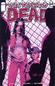 Walking Dead #34 first print.