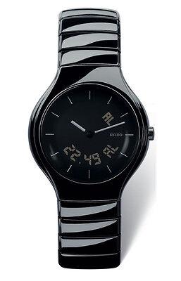 Rado Men's R27867152 True Multifunction Black Ceramic Hi-Tech Swiss Watch
