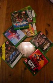 Selection of Xbox games